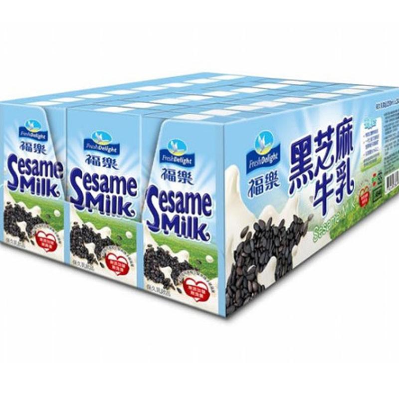 W85670 福樂黑芝麻保久乳飲品 200毫升 X 24入