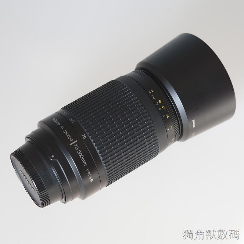 Nikon尼康AF70-300mm f4-5.6G全畫幅小紙炮長焦遠攝變焦鏡頭 二手易組裝 現貨免運