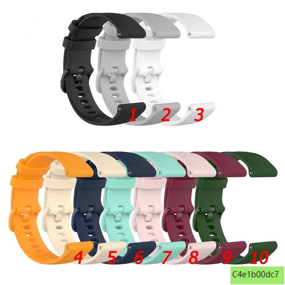 Garmin vivolife悠遊卡智慧手錶錶帶 替換腕帶 vivolife小格紋錶帶 矽膠錶帶 手