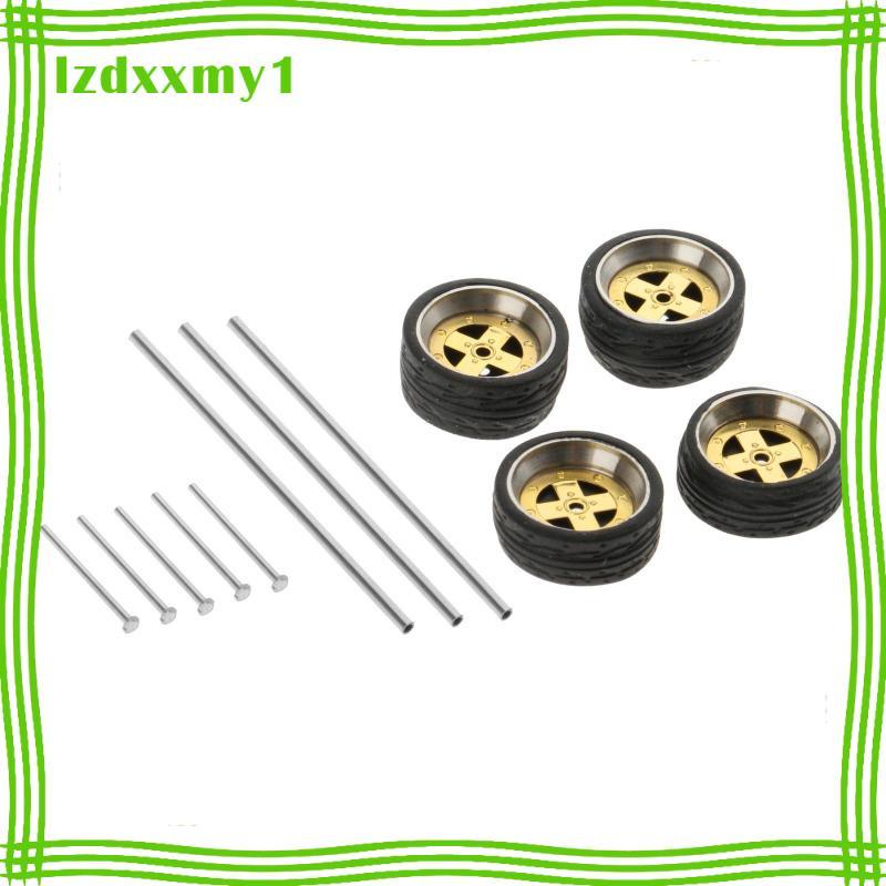 Kiddy  1:64秤壓鑄賽車模型車輪和輪胎套裝配件風格