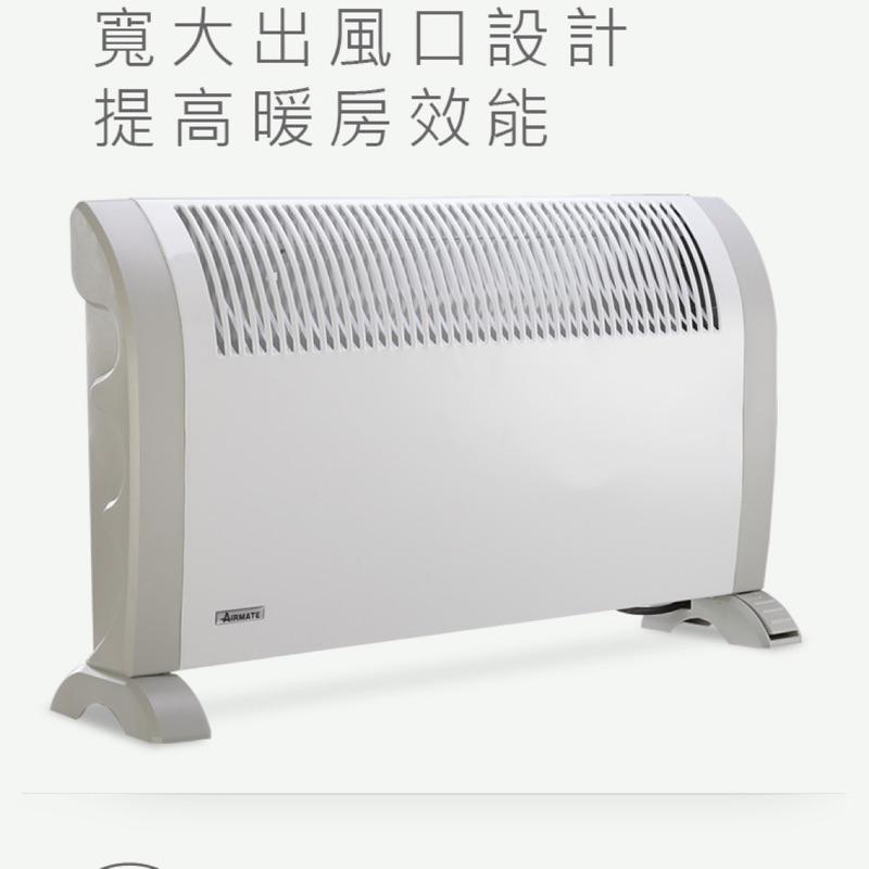 二手 AIRMATE 艾美特 智能偵測斷電對流式電暖器 HC81243