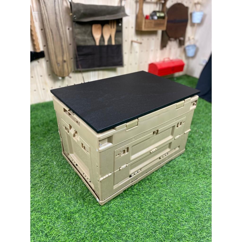 八刀草 軍事風箱 側開式摺疊收納箱 摺疊收納箱 專用黑黑板 露營美學 居家生活 Filter017
