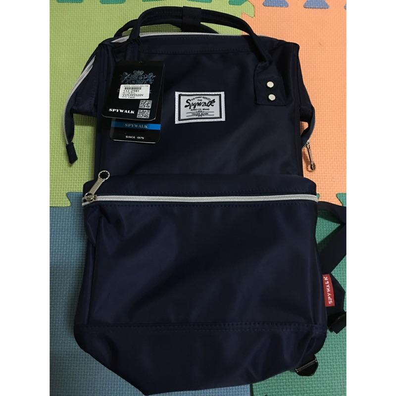全新現貨出清-【SPYWALK】韓式寬口包大容量手提後背包