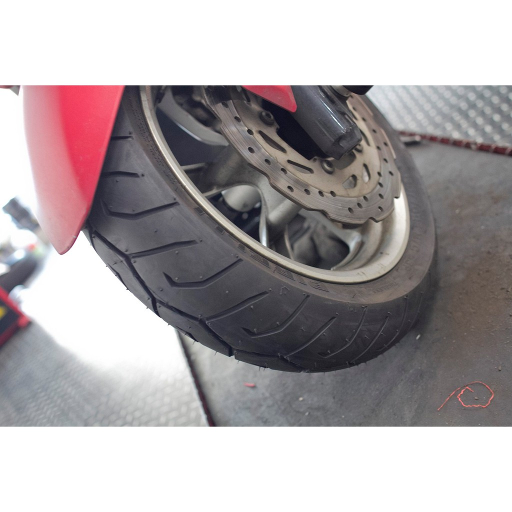 [13吋輪胎]13寸輪胎 倍耐力  120/70/13 惡魔胎 smax force 155 胎皮