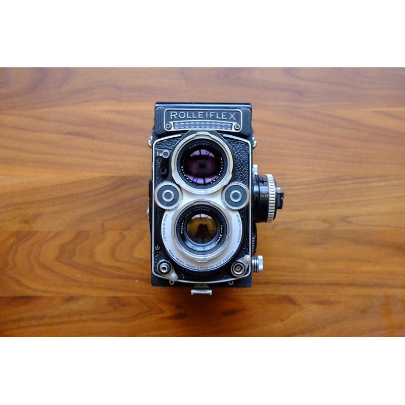 Rolleiflex 3.5F 白臉