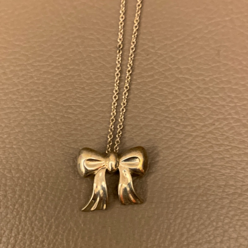 Tiffany & co. 蝴蝶結🎀項鍊