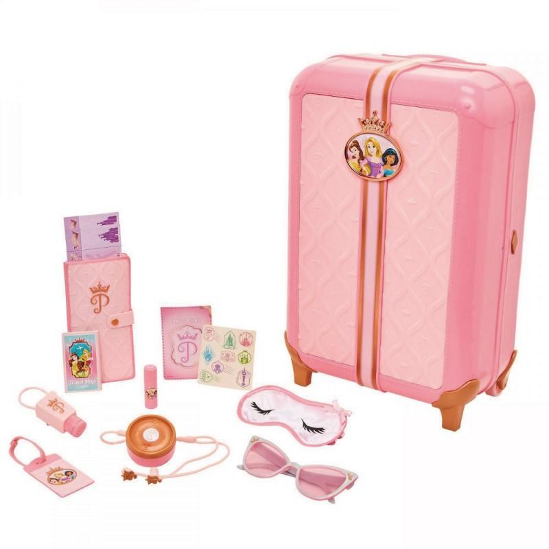 迪士尼公主 公主粉紅手拉箱 玩具反斗城