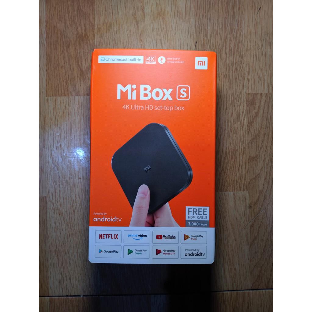 全新未拆 小米盒子 S 國際版 電視盒