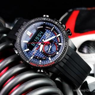 CASIO限量版卡西歐手錶男紅牛F1賽車運動太陽能ECB-800TR-2A 嘉義縣