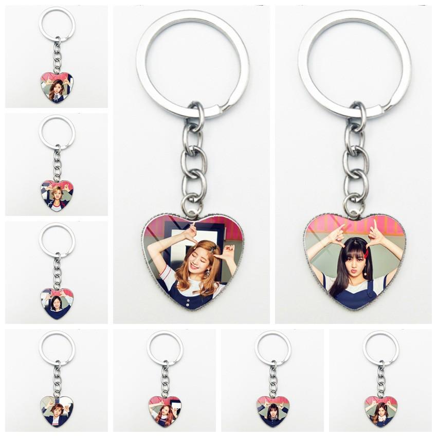 KPOP TWICE Love Heart Key Finder Holder鑰匙扣