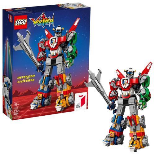 LEGO 樂高 21311 IDEAS系列 Voltron 聖戰士 百獸王 五獅合體 全新未拆 公司貨 盒況完整