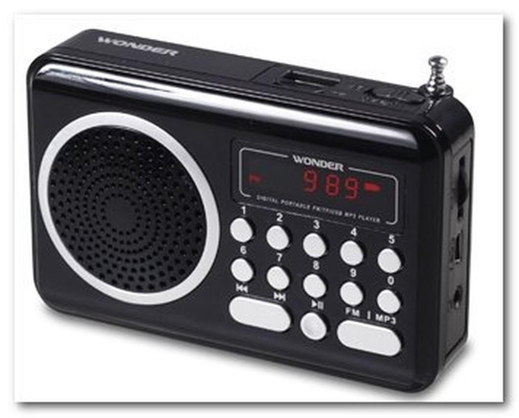 [小琪的店] WONDER 旺德 USB/MP3/FM 隨身音響 WS-P006