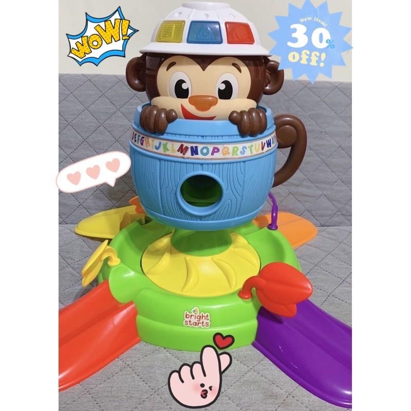 ‼️「賠售💥二手」‼️Bright Starts 小猴子旋轉球遊戲組 投球組 健力架 費雪 小泰克