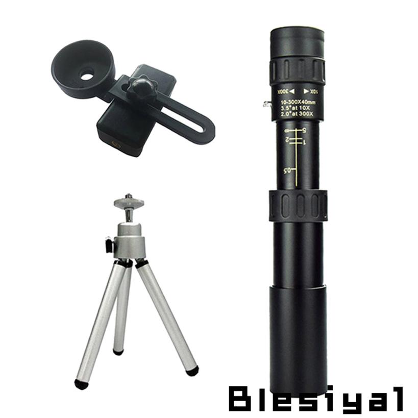 4k 10-300 X 40mm 變焦單筒望遠鏡 Bak4