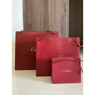 正品Cartier卡地亞紙袋 臺南市