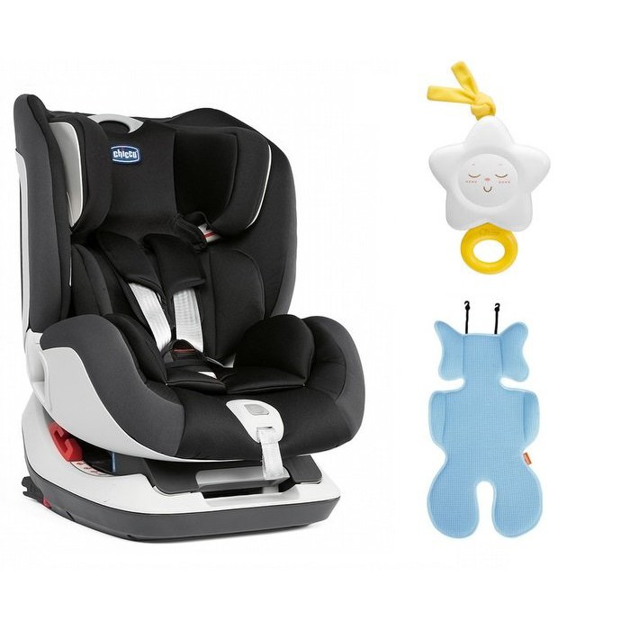 Chicco Seat up 012 Isofix 0-7歲安全汽座-煙燻灰12900元+贈立體超透氣涼蓆+音樂鈴