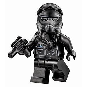 玩樂趣 LEGO樂高 75101 TIE Fighter Pilot 二手人偶(sw0672)