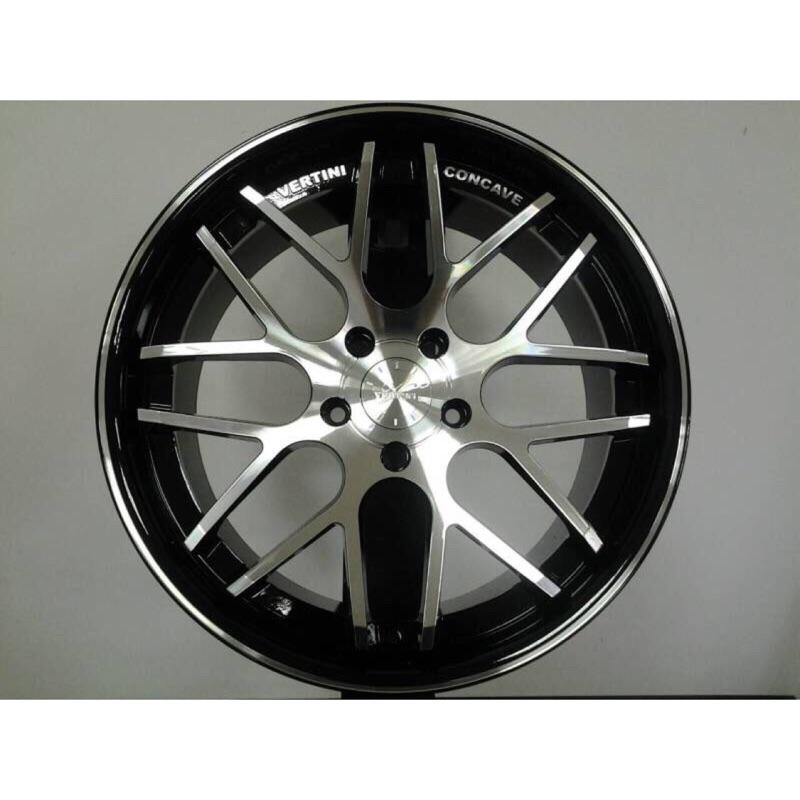 品牌圈VERTINI VT143 MAGIC 19吋5*114.3黑車面鋁圈 價格標示88非實際售價 洽詢優惠中