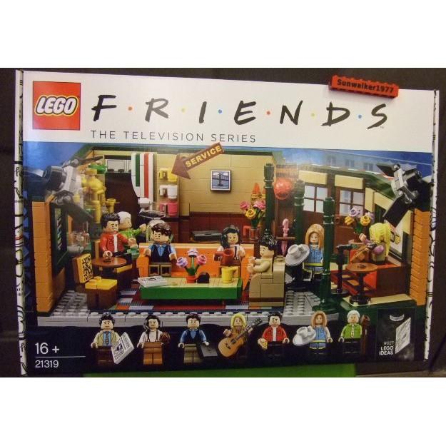 【積木2010】樂高Lego- IDEAS 全新未拆 21319 六人行-中央咖啡廳 (FRIENDS)