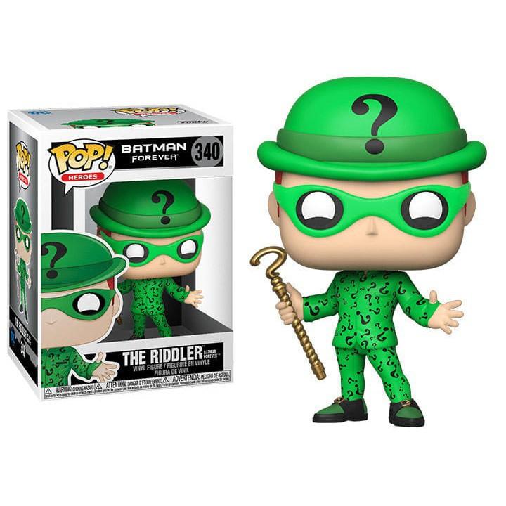 {克拉克玩具} FUNKO POP DC 1995 Riddler BATMAN 蝙蝙俠 謎語人 謎天大聖 金凱瑞