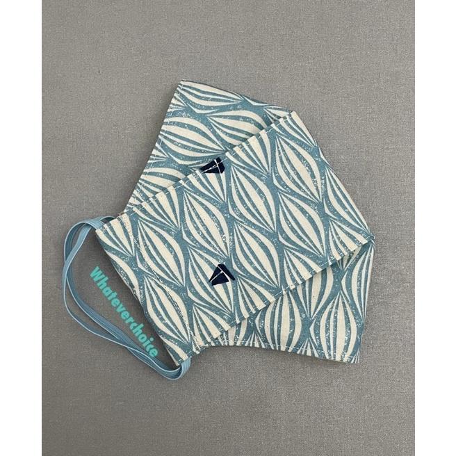 手作舟型立體純棉布口罩