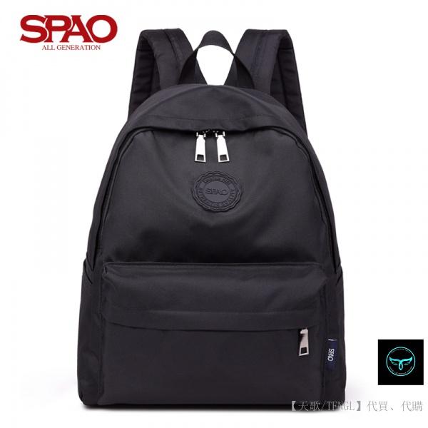 【天歌】全場免運 韓國代購 SPAO 休閒雙肩包 旅行背包 電腦包 大容量 後背包