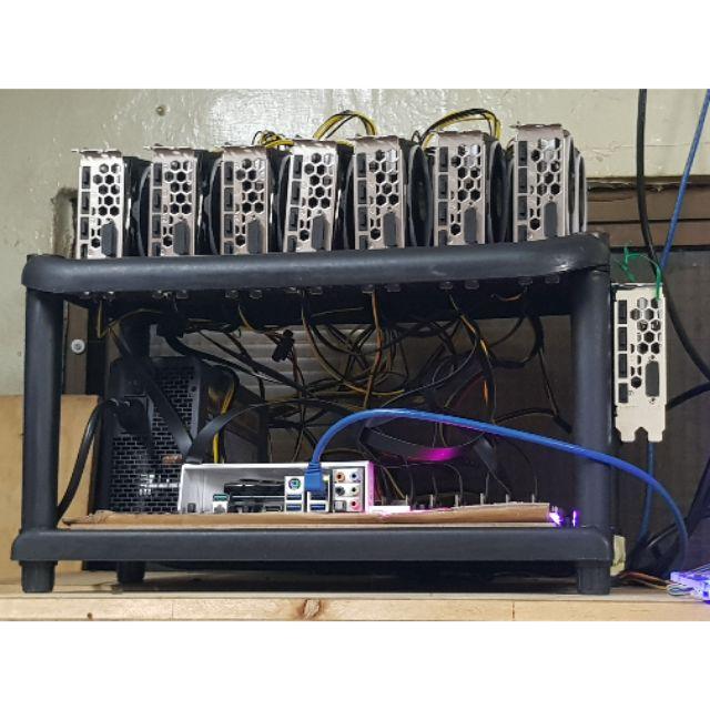 礦架 裸測架 機殼 裸 機箱 免螺絲 rx470 rx480 rx570 rx580 1060 1070 1080