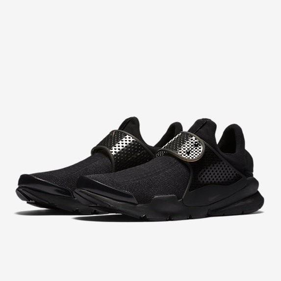 〔Run Shoes〕NIKE Sock Dart 全黑 819686