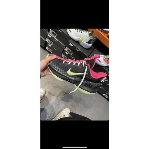 《全新》Nike LeBron Ambassador 13 黑鷹配色 夜光底