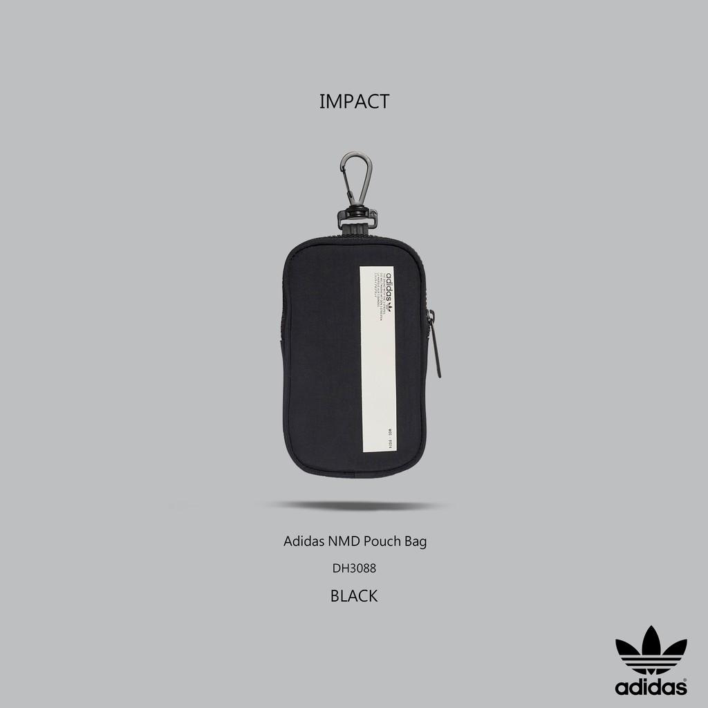 2f4904028 Adidas NMD Pouch Bag 黑白三葉草腰包掛包小包超實用男女DH3088 IMPACT ...