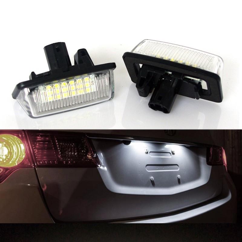 一組二入 豐田TOYOTA VIOS PREVIA WISH   專用直上 LED車牌燈 牌照燈 總成