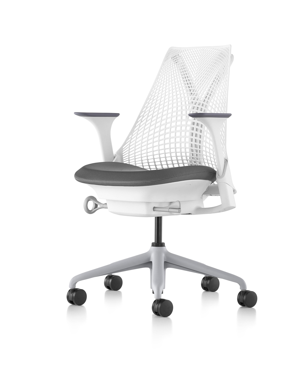 【新款熱銷】赫曼米勒herman miller sayl原裝全新辦公椅進口灰色椅米白電腦椅
