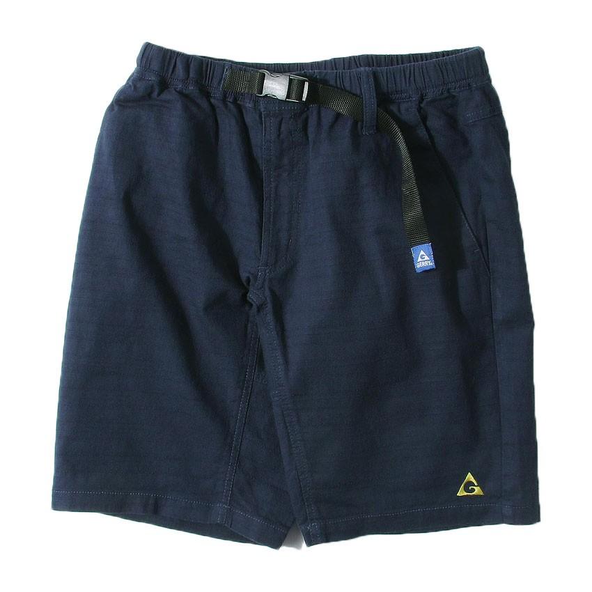 GERRY OUTDOORS 76330-72 Baniran Shorts 棉麻透氣 短褲 (深藍) 化學原宿