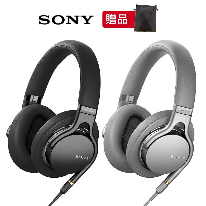SONY MDR-1AM2 2色 高音質輕巧耳罩式耳機 4.4mm平衡傳輸