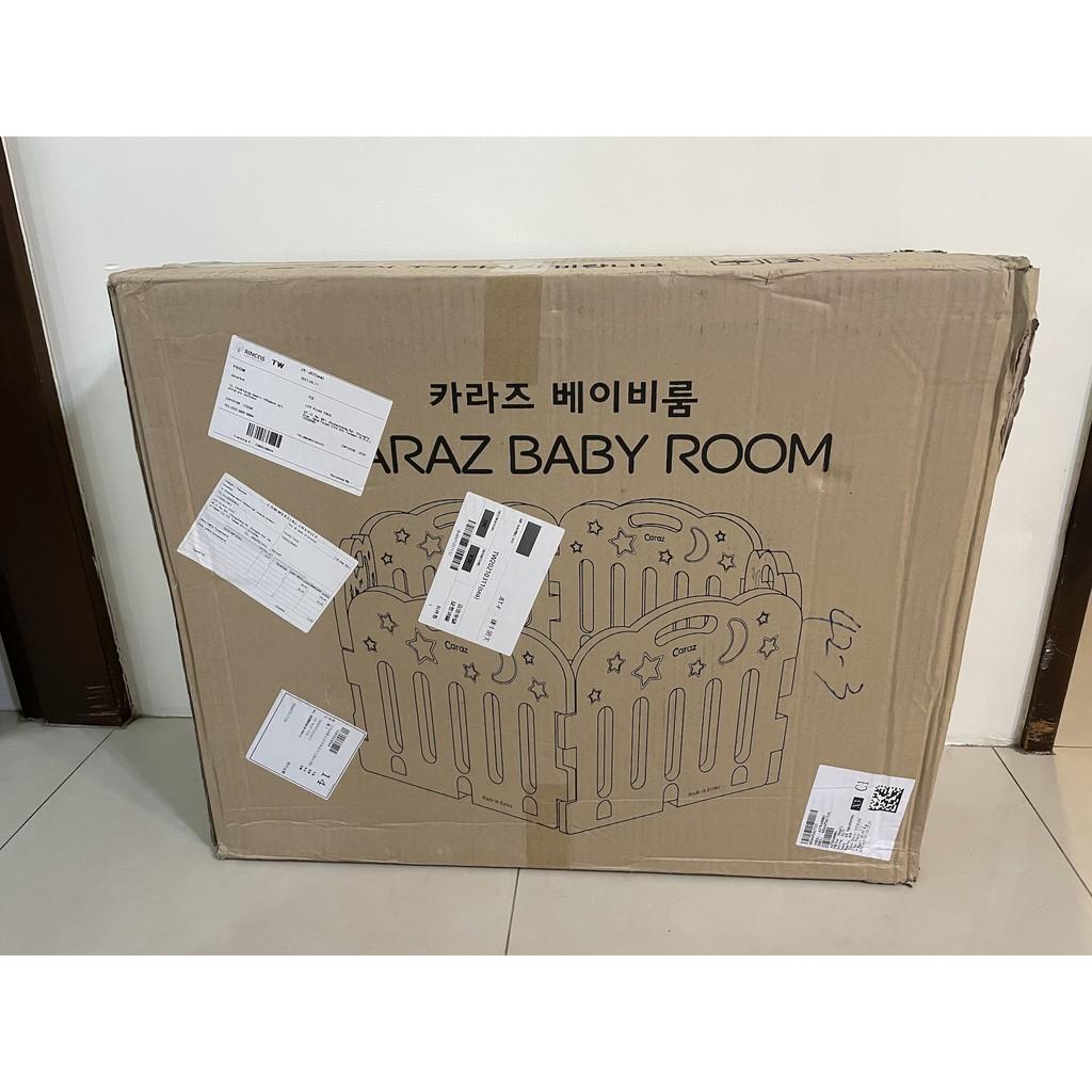 韓國 Caraz 圍欄+門 灰白配色 - 完美適用 200*140 地墊 - 限自取