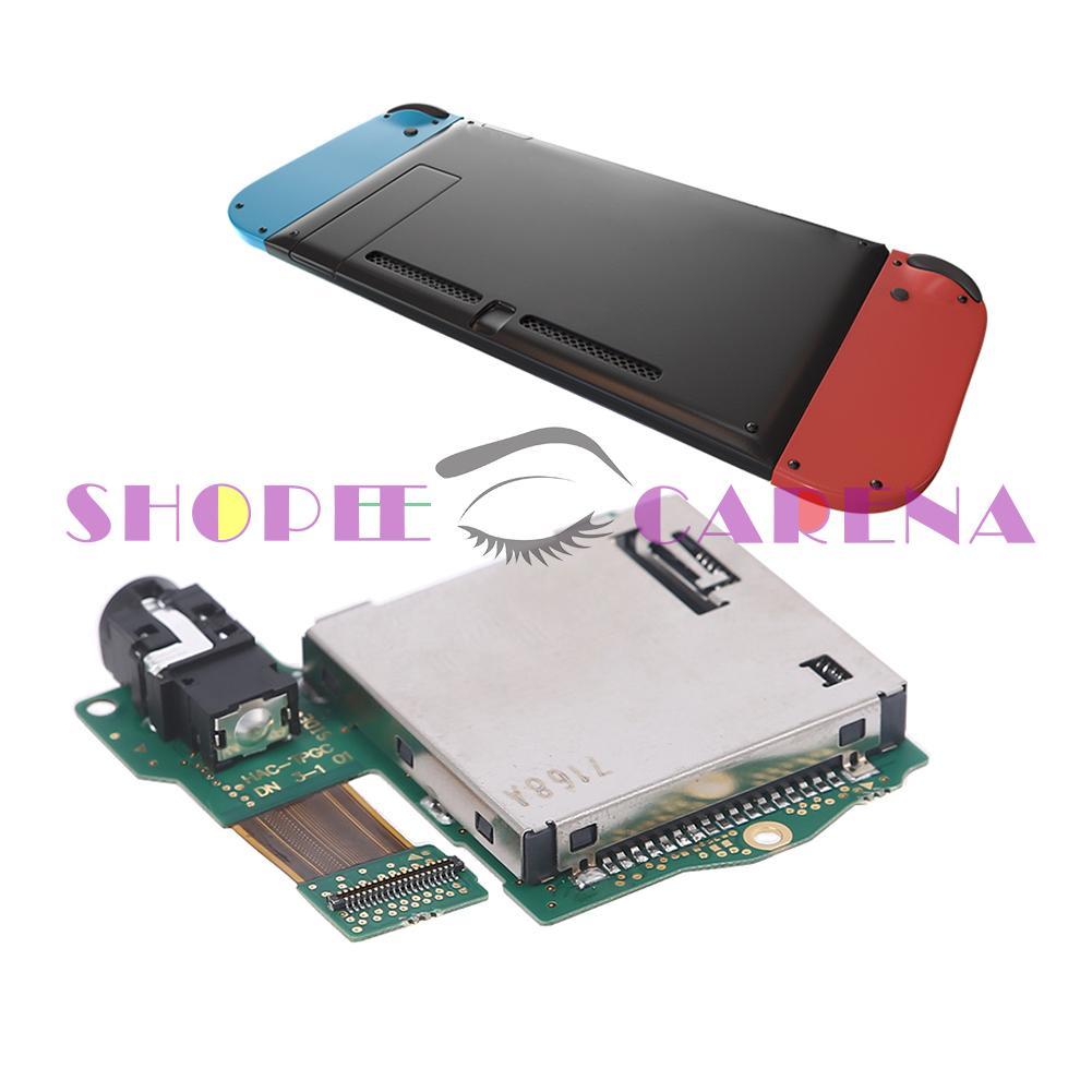 (Shopeecarenas) Nintend Switch 遊戲機維修零件的遊戲卡插槽板