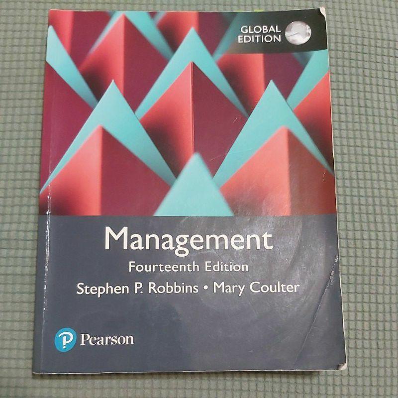 MANAGEMENT-管理學 14版 原文書