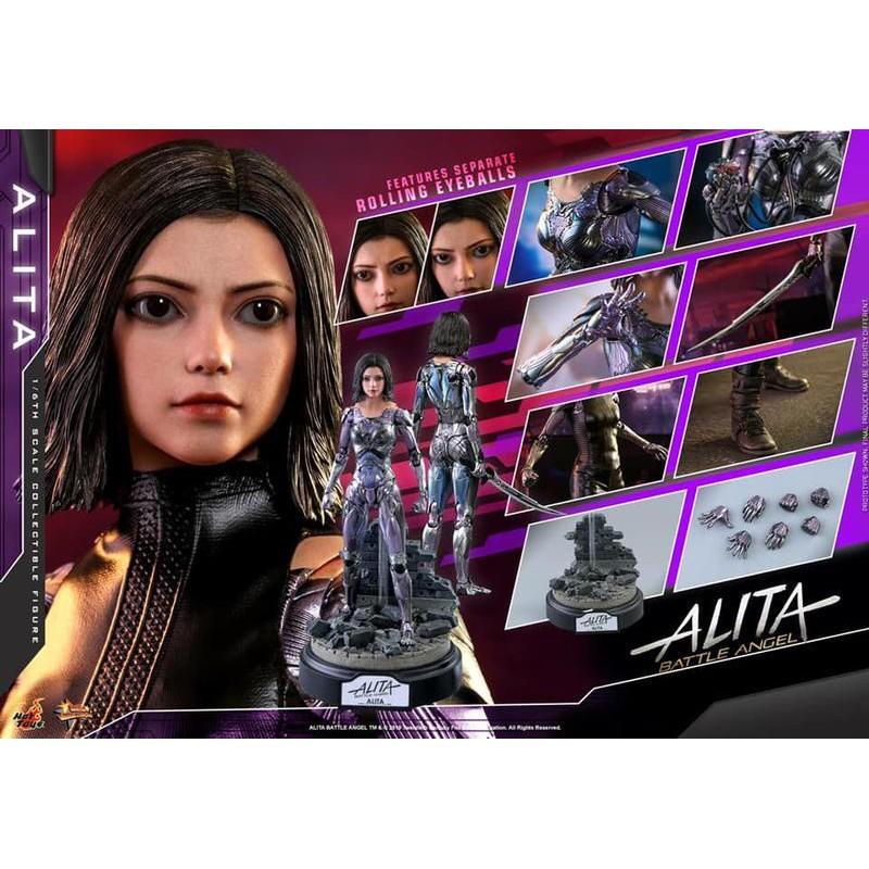 (塔比樂玩具) Hot toys MMS520 艾莉塔:戰鬥天使 艾莉塔 現貨