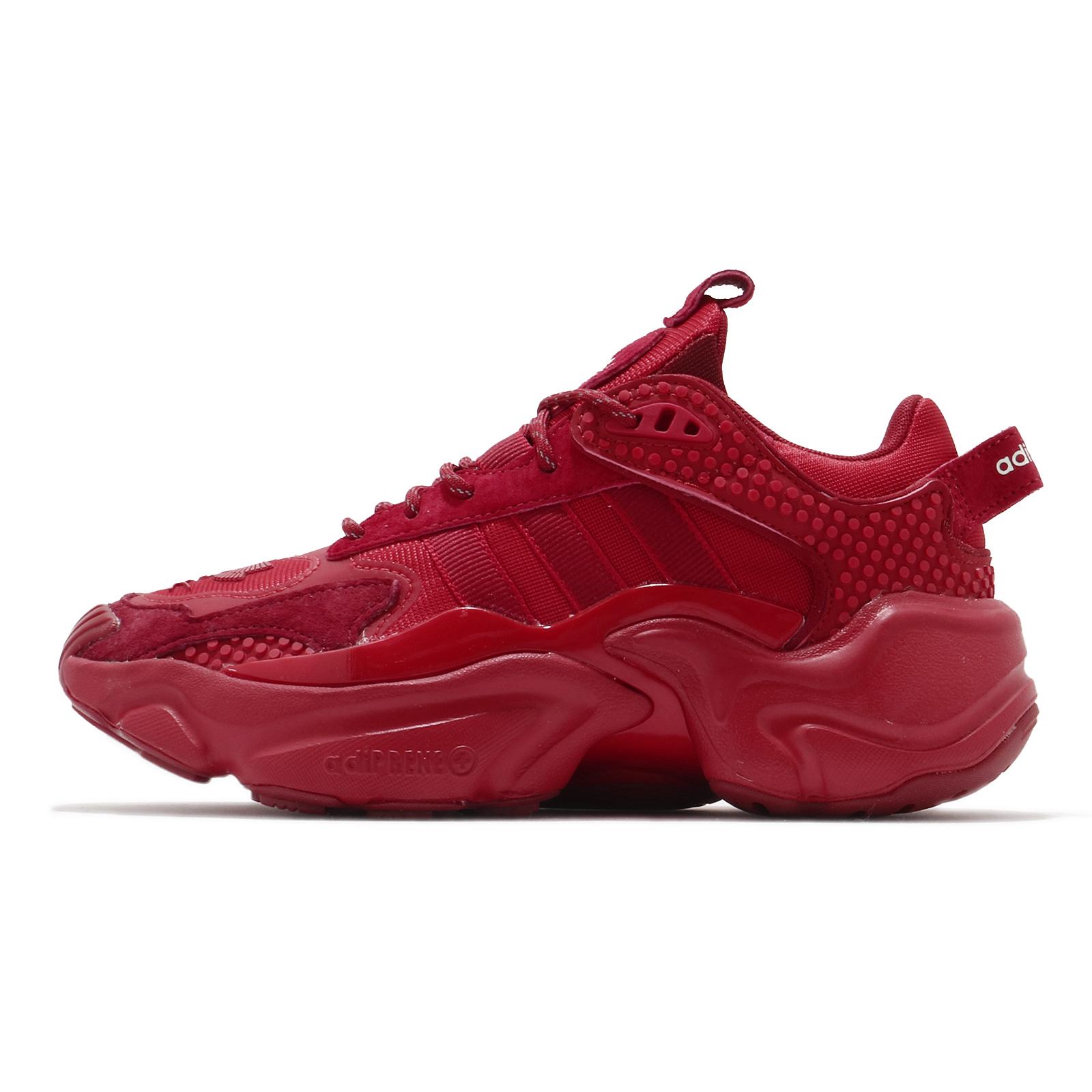 adidas 休閒鞋 Magmur Runner W AC 全紅 老爹鞋 限量聯名款 女鞋【ACS】 FX1942
