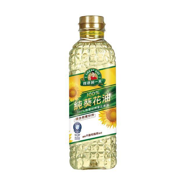 得意的一天100%純葵花油 1L