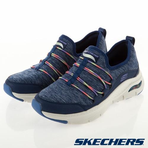 【SKECHERS】 女   休閒系列 ARCH FIT - 149061NVM - 海軍藍