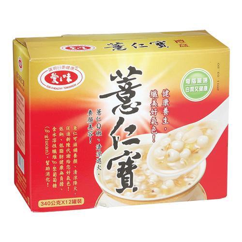 愛之味薏仁寶禮盒340g*12入/盒【愛買】
