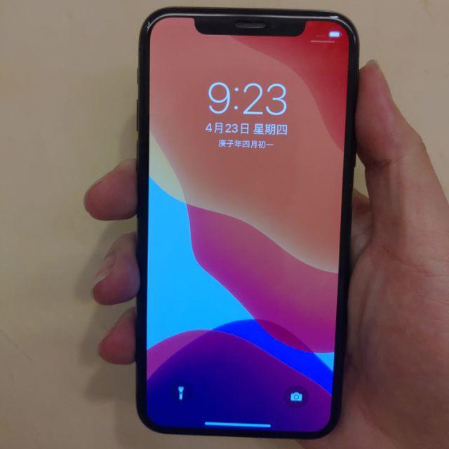 二手內有實拍 iPhone X 64g 黑色 桃園可面交 ix 也有 iphone11
