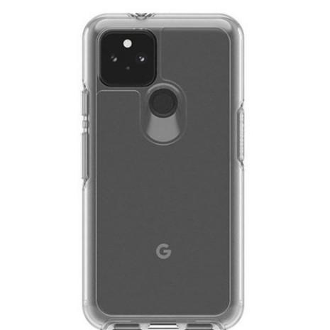 Google Pixel 5 現貨免運 贈滿版玻璃鏡頭貼 OtterBox Symmetry 透明保護殼 軍規防摔 抗菌