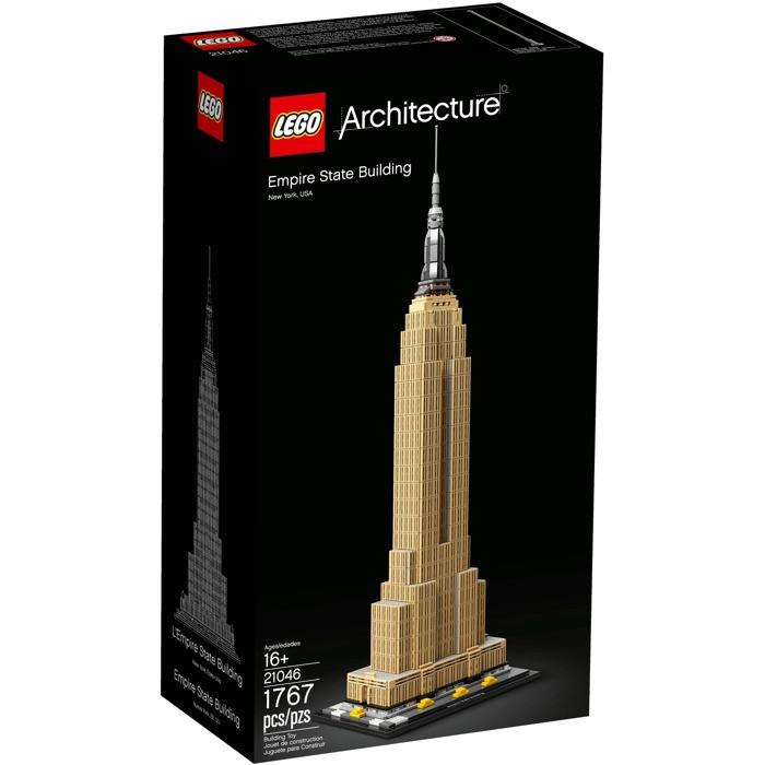 【晨芯樂高】LEGO 建築系列 LEGO 21046 Empire State Building