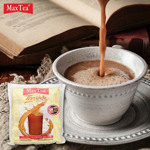 肥貓 超人氣 印尼 MaxTea 印尼拉茶 (25gx30包) 750g 美詩泡泡奶茶 奶茶 沖泡飲品 拉茶