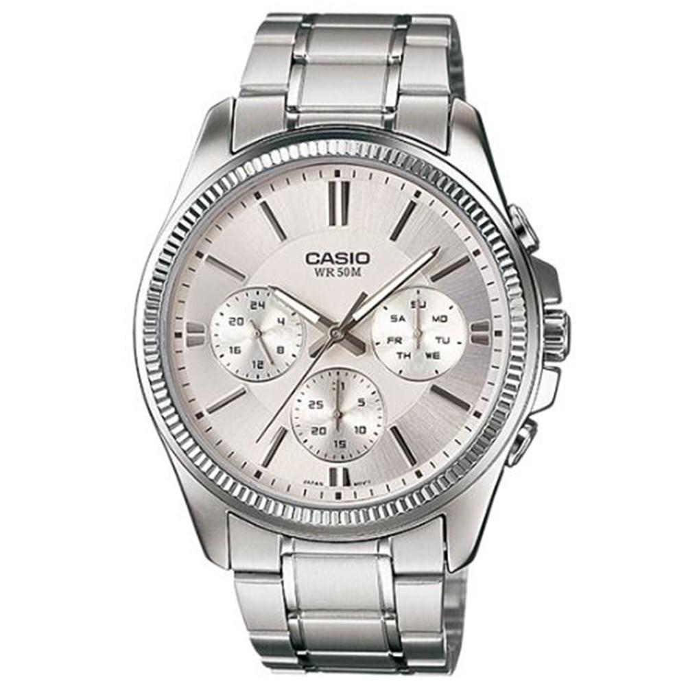 【CASIO】卡西歐 指針男錶 MTP-1375D-7A  原廠公司貨【關注折扣】