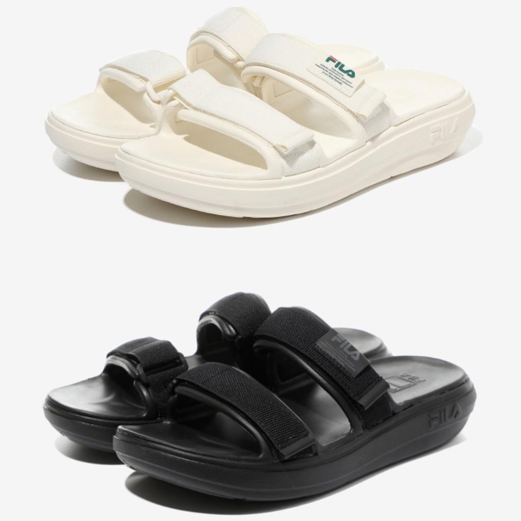 💐LOEIZ💐韓國代購🇰🇷 FILA  兩線涼鞋  拖鞋  魔鬼氈拖鞋