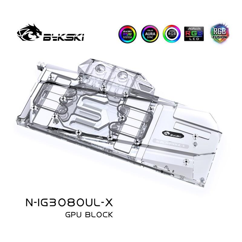 爆款日本進口Bykski N-IG3080UL-X 顯卡水冷頭 七彩虹 RTX 3080/3090 Ultra OCal