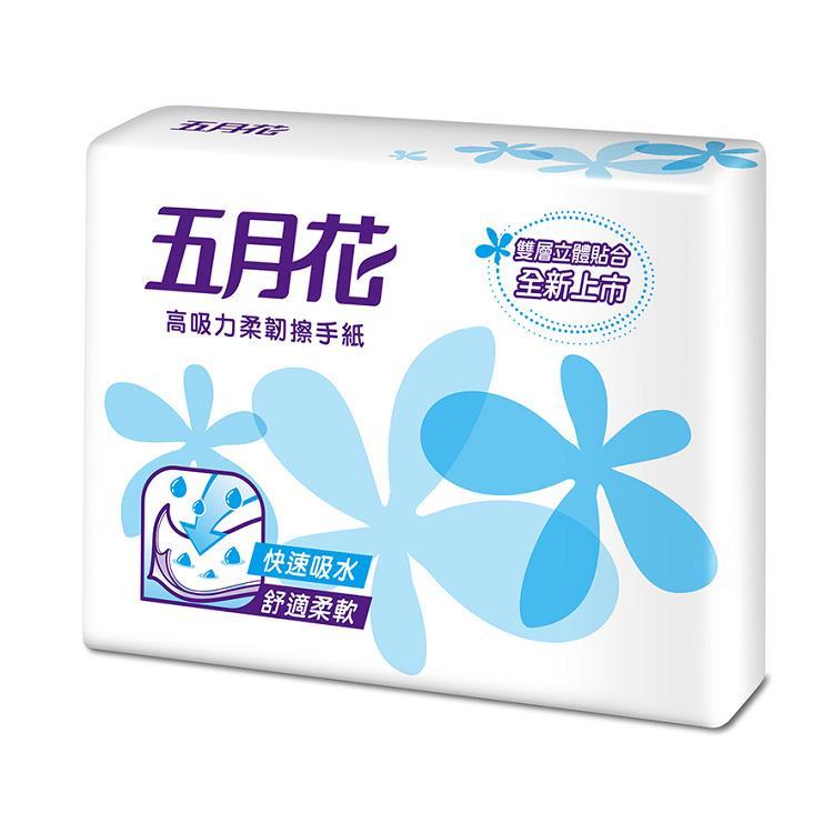 👑皇冠👑ISO,CNS,FSC,HACCP認證台製五月花擦手紙100抽(200張)衛生紙/面紙/小抽